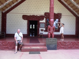 Rod at Waitangi Treaty House
