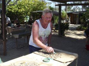 Rod fossiking in Sapphire