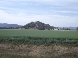 Scenery to Tamworth