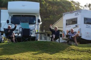 Parked Up at Merry Beach