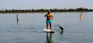 Rod on Paddle Board