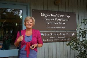 Dearne at Maggie Beer's