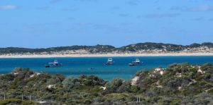 Our parkup at Pondalowie Bay, Innes National Park