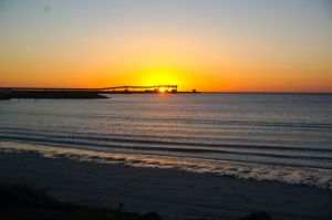 Wallaroo Sunset from the Motorhome