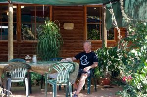 Relaxing at Gemtree Bush Camp
