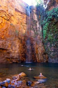 Dearne in the Emma Gorge Pool
