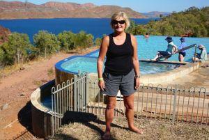 Dearne posing at Lake Argyle