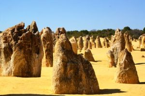 The Pinnacles in the Nambung National Park, Western Australia