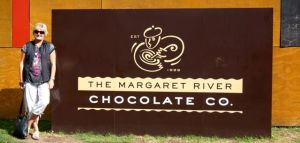 Dearne at the Margaret River Chocolate Factory