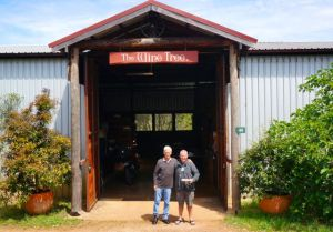 Rod with Greg at The Wine Tree in Dwellingup