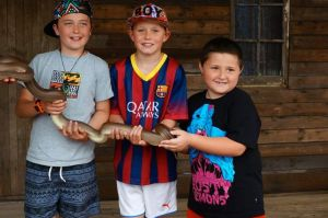 The snake handlers