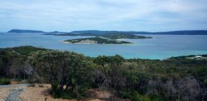 The stunning Albany Harbour