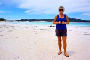 Dearne at Lucky Bay in Cape Le Grande National Park at Esperance