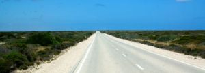 146.6km of dead straight road - the longest straight piece of road in Australia