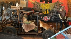 At the Mad Max Museum at Silverton, NSW