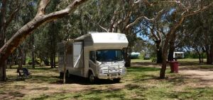 Parked up at Frank Potts Reserve at Langhorne