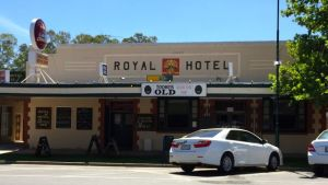 The historic Royal Hotel in Wentworth