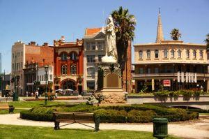 The beautiful downtown Bendigo