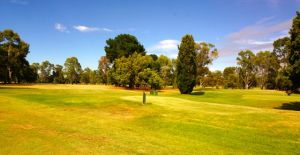Our parkup on the 17th at the beautiful Tatura Hilltop Golf and Country Club