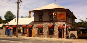 The Skipton Hotel in the village of Skipton, Victoria